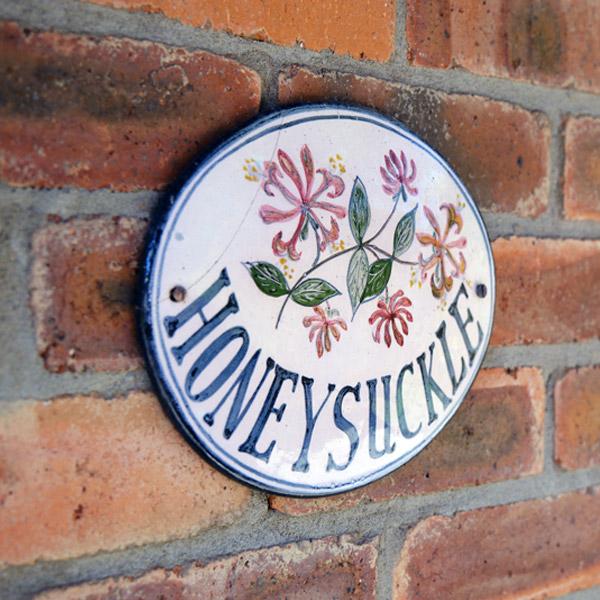 honeysuckle nameplate
