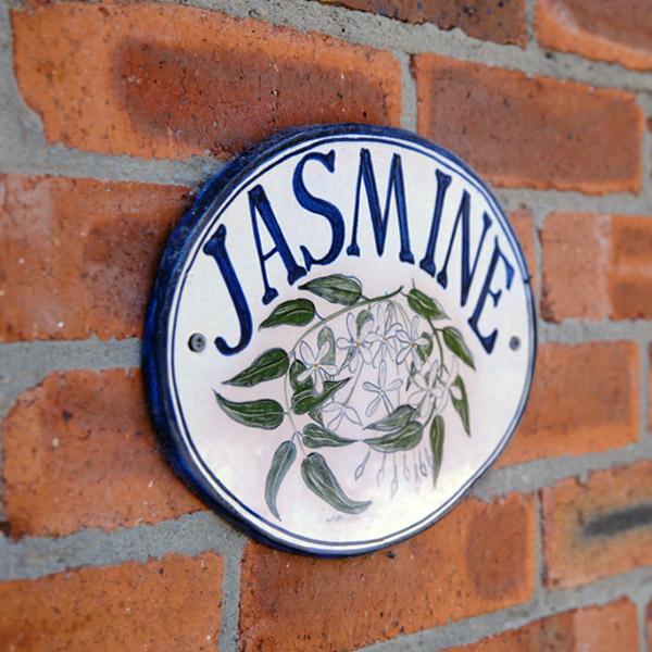 jasmine nameplate