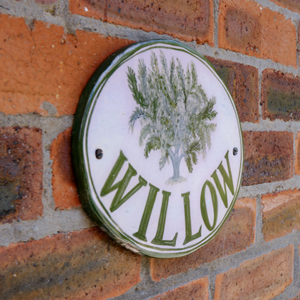 willow nameplate