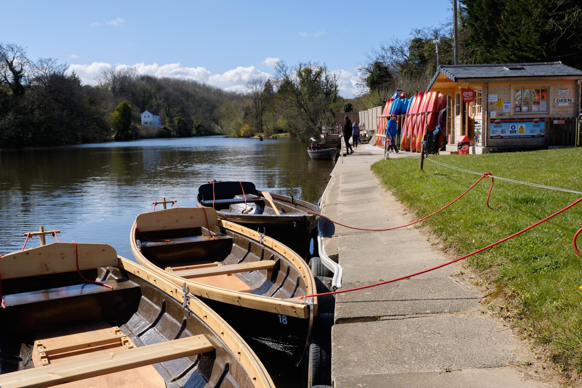 Ruswarp rowing boats