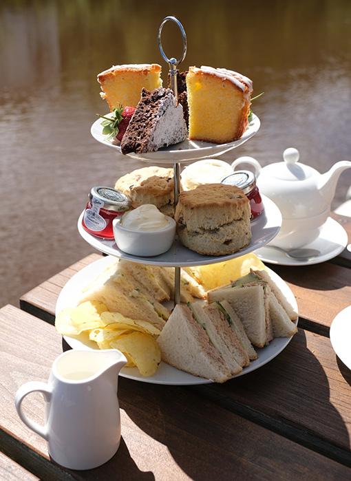 Ruswarp Riverside Cafe Afternoon Tea